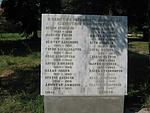 Паметната плоча на загиналите в мините